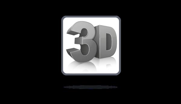 Полная поддержка 3D